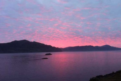 Sunset on the Isle of Raasay