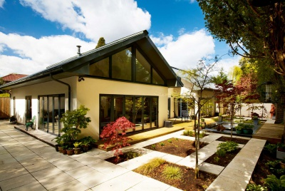 Contemporary single storey home