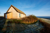 Rustic self build cabin