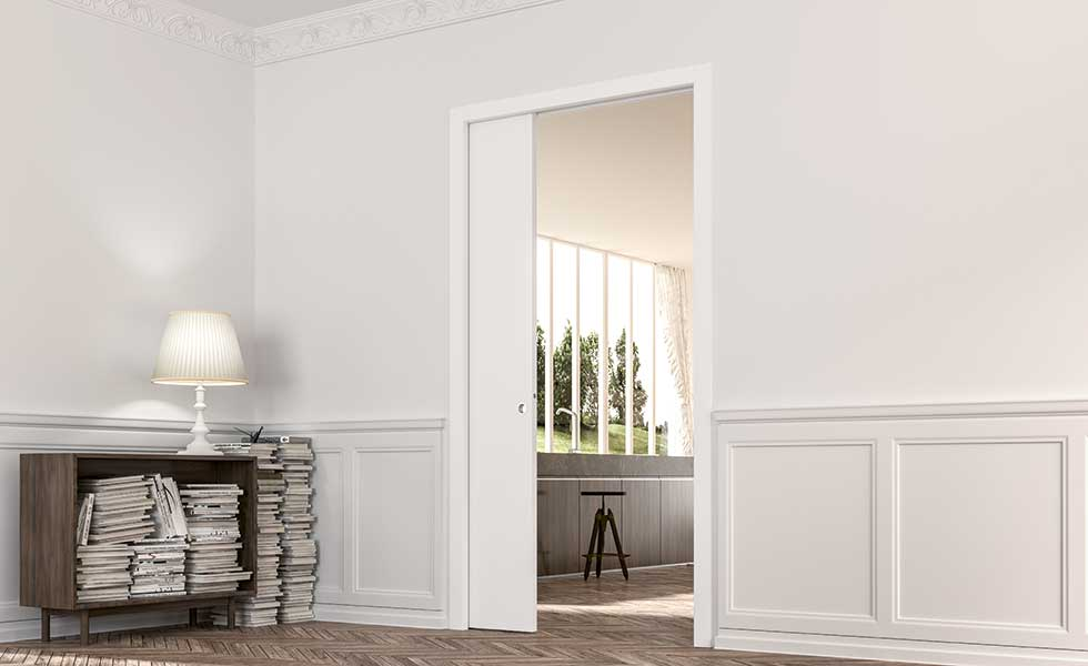 Architrave Free Or Flush Kits Are Also Great For Contemporary Homes While Soft Close Mechanisms Available Too You Can Get Glazed Pocket Doors