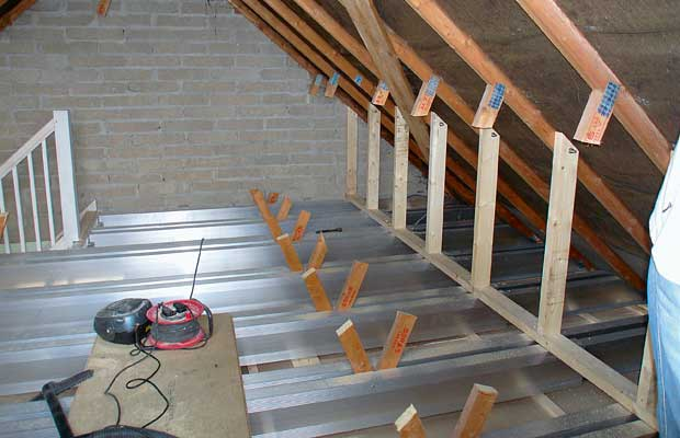Loft conversions for difficult roof constructions for How much to build a garage with loft