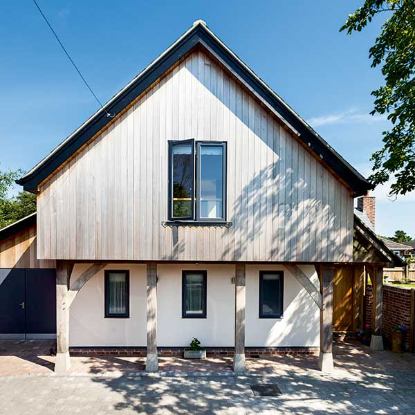 Sips and oak frame home homebuilding renovating for Sips home packages