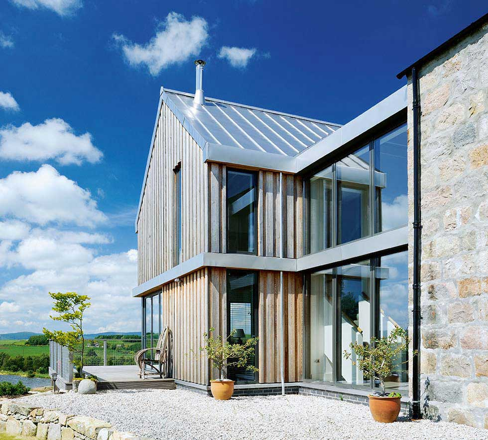Double-height Velfac glazing