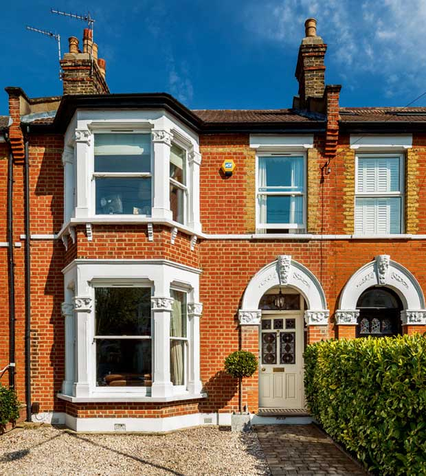 Richard and Hannah's Victorian Terrace in Eltham
