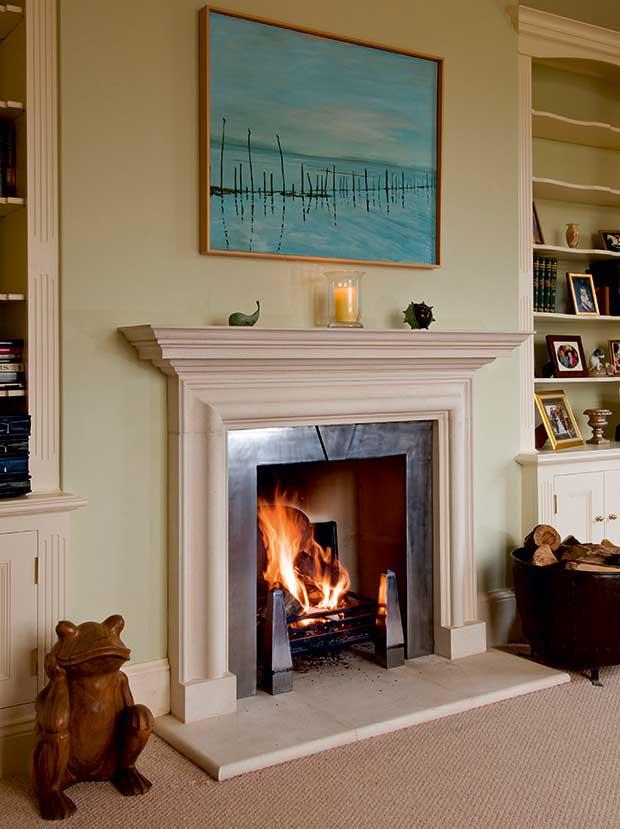 Haddonstone's Vanbrugh Chimney Piece