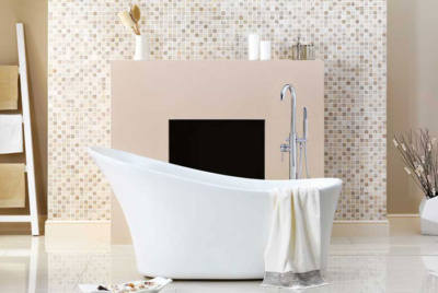 Harding roll top bath from Victoria Plumb