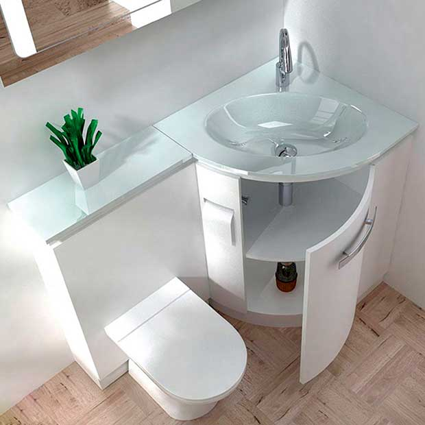 Built In Sink And Vanity Unit