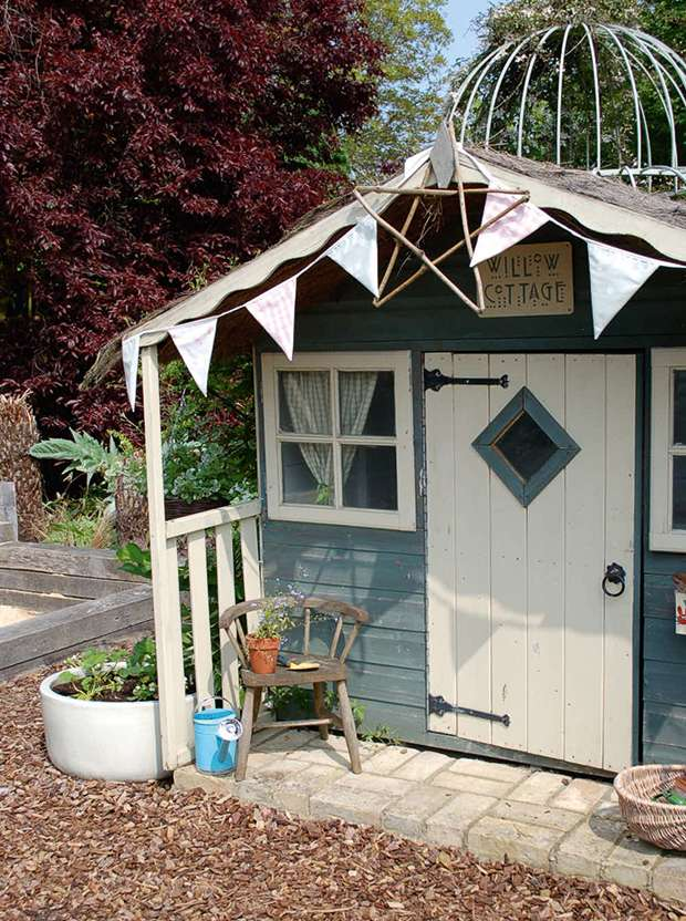 Willow Cottage playhouse