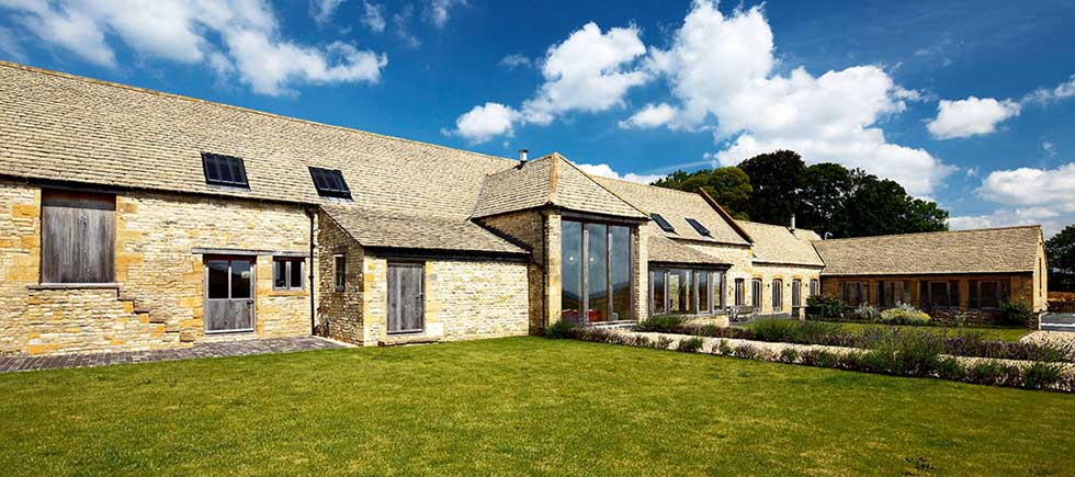 How to convert a barn - Converted stone barn