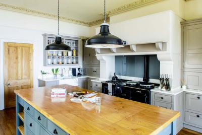 Country-style kitchen design