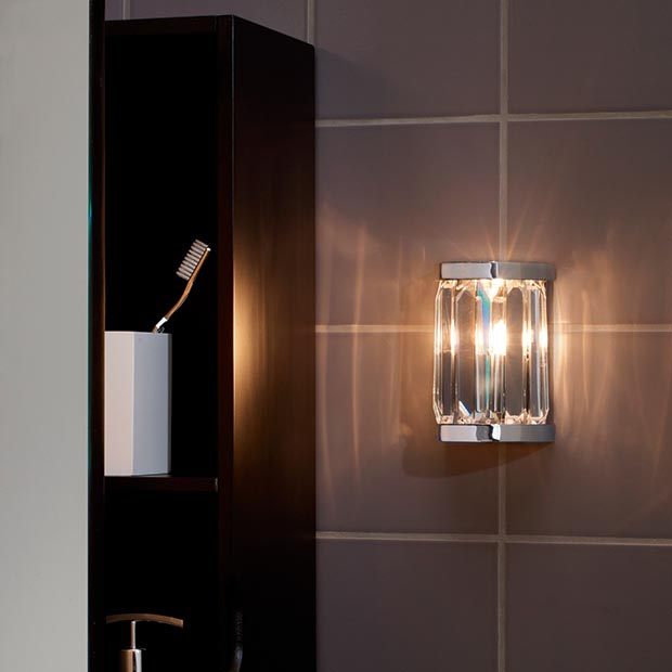 bathroom lighting options. Quartz Bathroom Wall Light Lighting Options