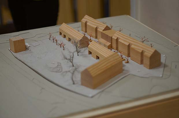 A model of the proposed K1 project