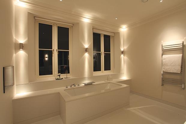 pillar bathroom light from John Cullen