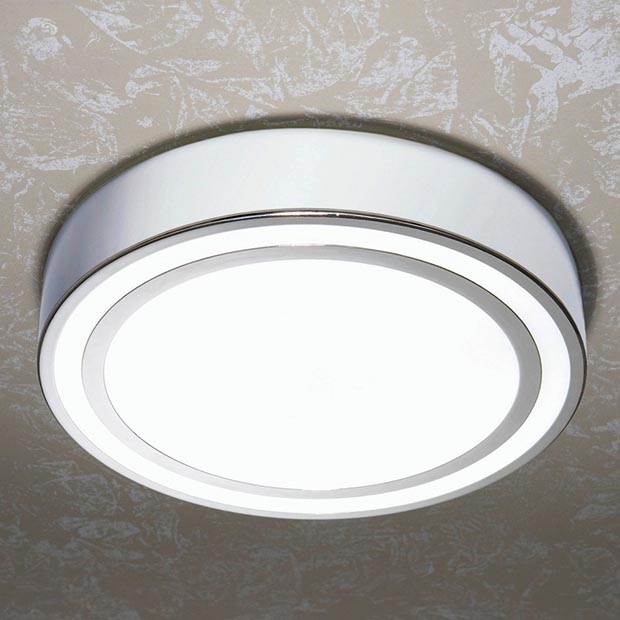 spice round bathroom ceiling light from Victorian Plumbing