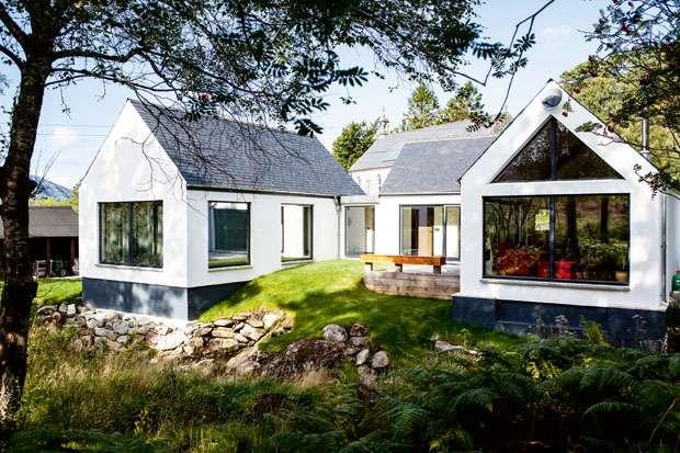 Robin Cochrane's DIY and self designed self build