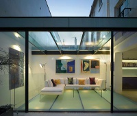 photograph of property exemplifying use of glass