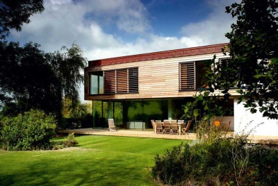 A self managed self build in Somerset