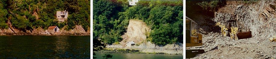 Building Inverdart Boathouse