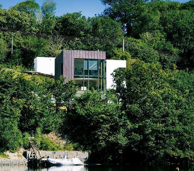 Stan Bolt designed home in Newton Ferrers