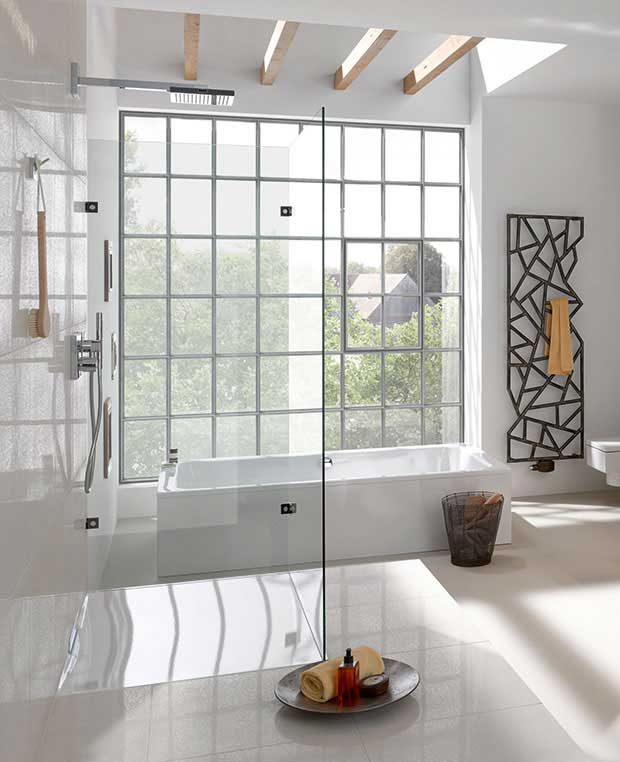 Xetis Enamelled Shower Surface