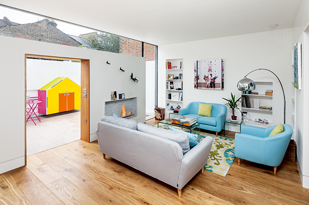 a family home in London insulated with Aerogel