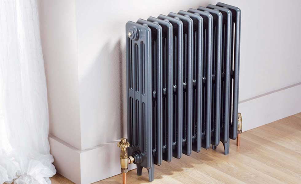 Radiator old fashioned style central heating