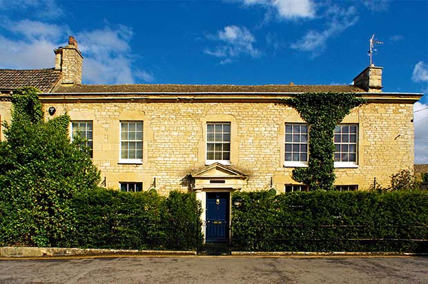 Georgian Cotswold Stone home