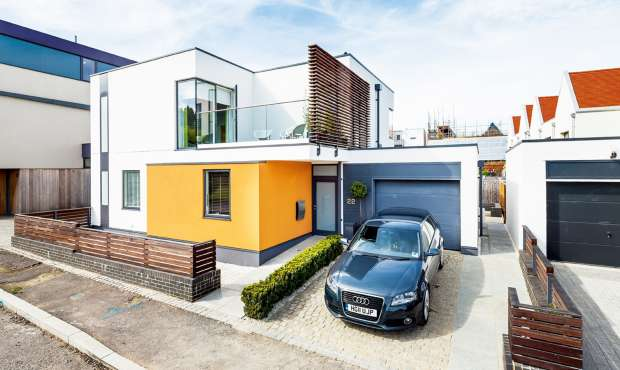 A custom build home in Essex