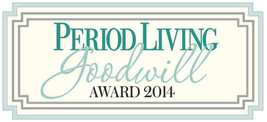 Period Living Goodwill Award logo