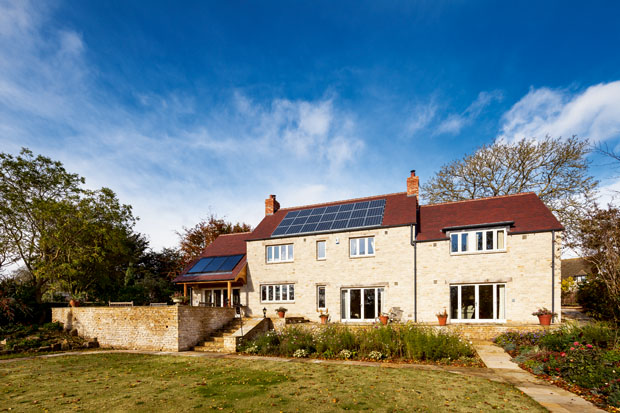 Justin and Lindsay Steads eco home in Oxfordshire
