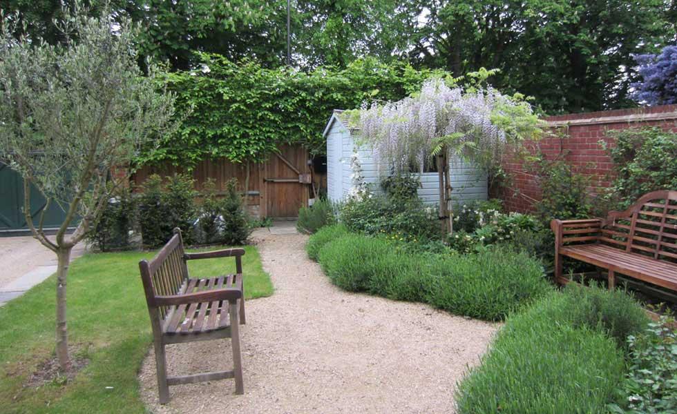 A permeable garden