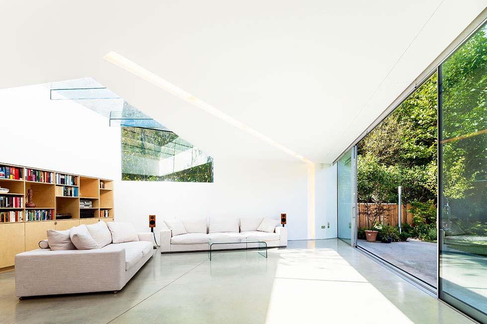 A light-filled contemporary extension to a Victorian home