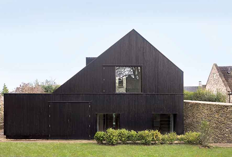 chapel style home in Wiltshire by Jonathan Tuckey