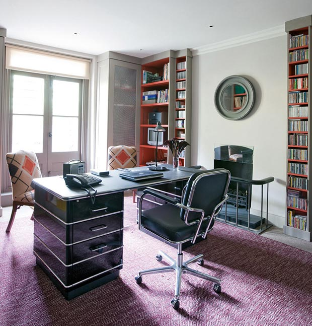 Delightful Functional, Stylish Home Office Designed By Charlotte Crosland