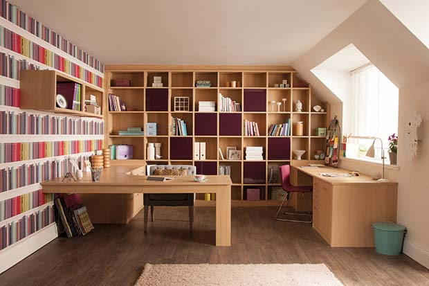 Marvelous Home Office Designed By Sharps