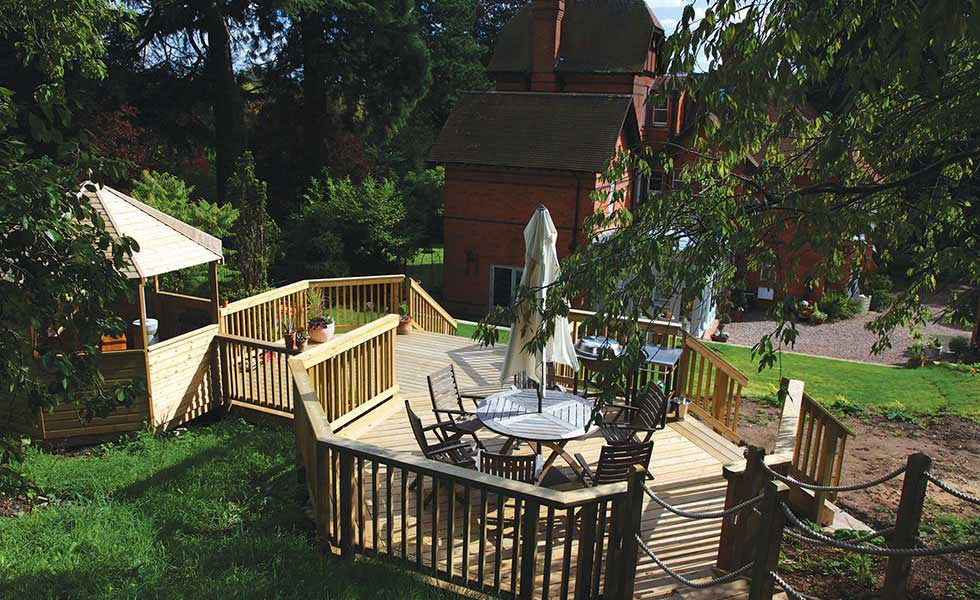 Timber decking from Arbordeck