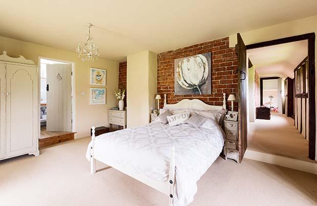 Tudor style remodel homebuilding renovating for Tudor style bedroom