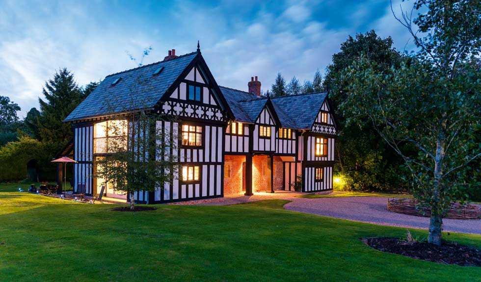 A Tudor-style remodelled family home