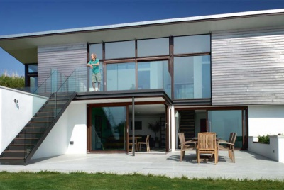 An award-winning contemporary self build on the Devonshire coast