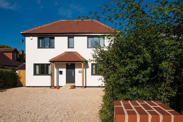 A Buckinghamshire self build with H+H Celcon blocks