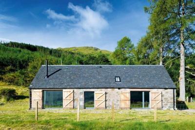 A lochside barn conversion