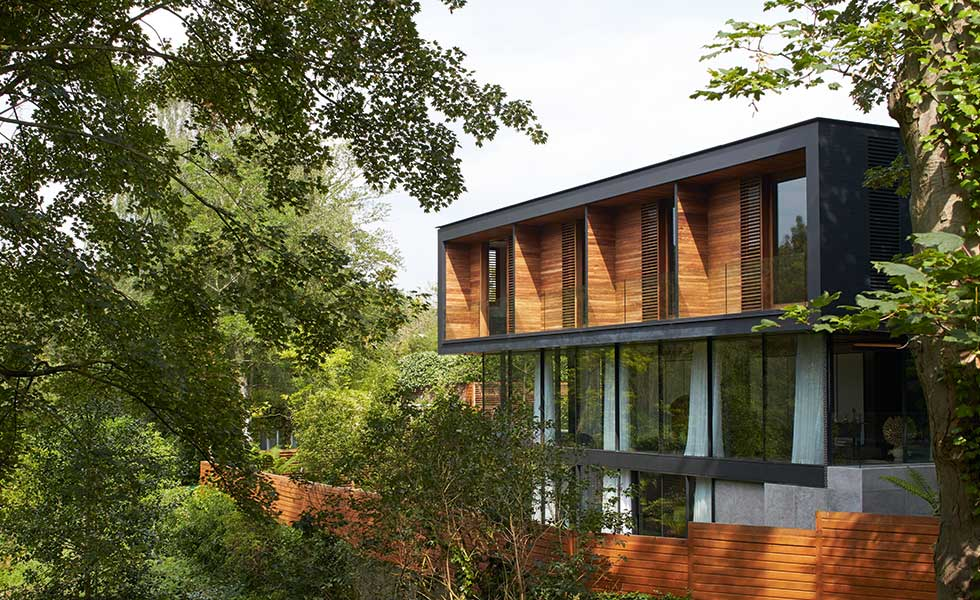 International-style home in London by Stanton Williams Architects