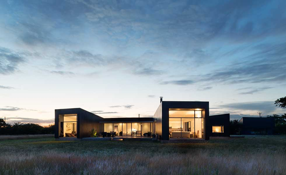 A European-style home in Suffolk by Charles Barclay Architects
