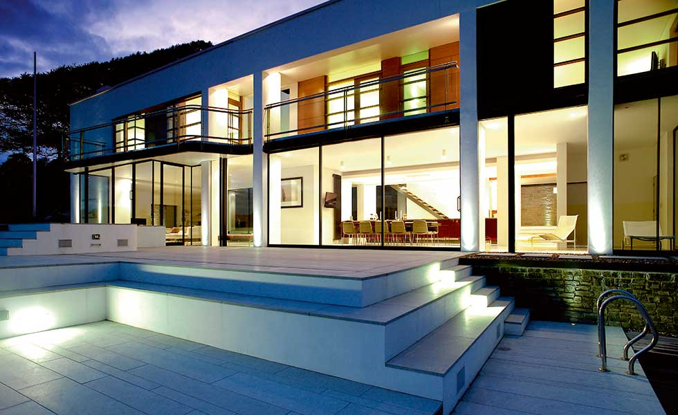 Stan Bolt home in Salcombe Devon in Californian style