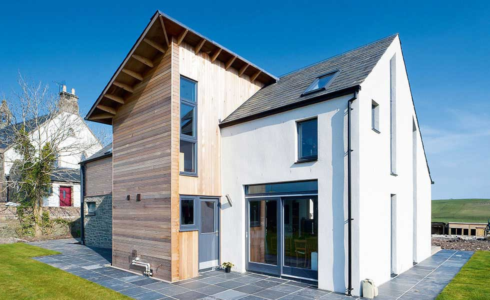 A custom build kit home from package supplier Firefly Wood