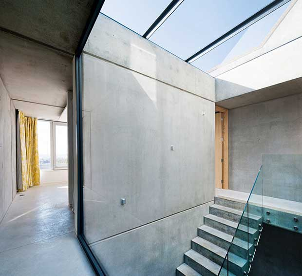 Concrete interiors homebuilding renovating for Precast concrete home plans