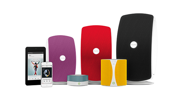 Jongo by Pure family of wireless audio systems