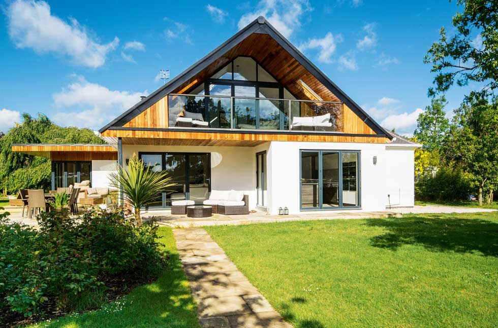 A remodelled 1930s bungalow
