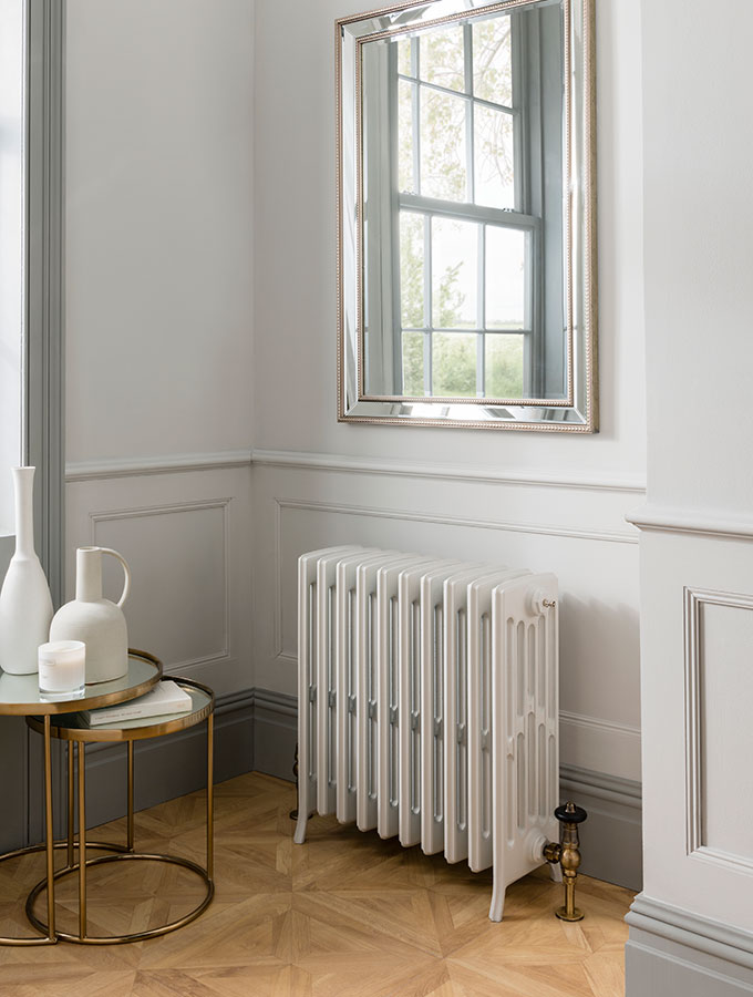 traditional radiator with paint match