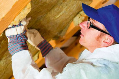 Adding insulation between the rafters